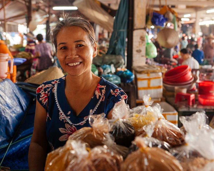 The Market Stall Holder, Hoi An