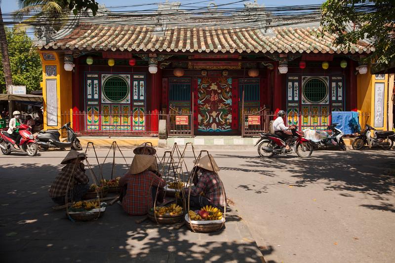 Street Vendors at Rest, Hoi An