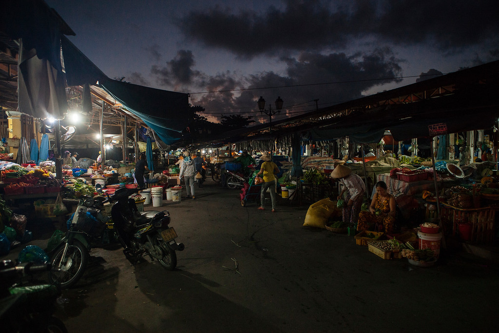 Early Morning at the Market, Hoi An