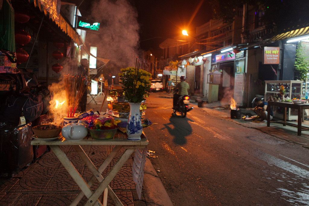New Moon Offerings, Hoi An