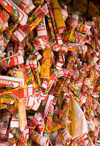wishes on a wishing tree in Hong Kong, China