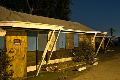 No Vacancy  Wagon Wheel motel rooms.