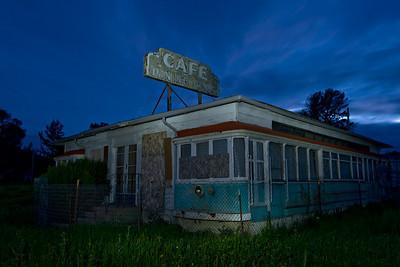 Closed Tonight  Mullen's Dining Cars Cafe, Buellton, CA