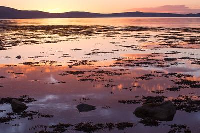 Sunset at Ardmair Bay