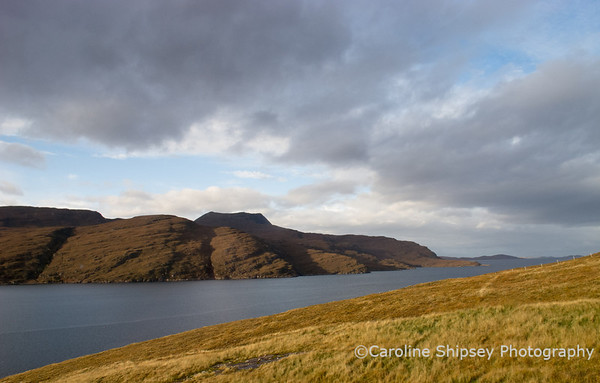 Farewell view from my room at Ardvreck House, Ullapool