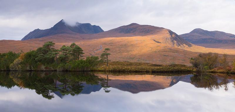 Loch Cul Drumannan at twilight