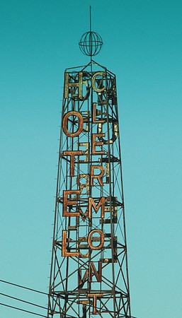 Hotel Clermont Sign