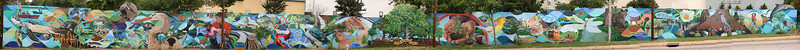 Native Waters - A Watershed Mural Panorama
