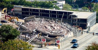 Wachovia Building post-implosion