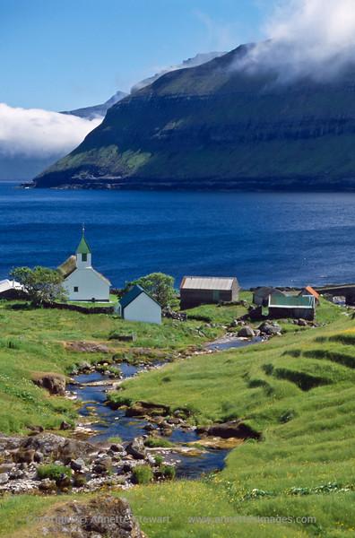 Oyndarfjordur church, Eysturoy