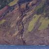 Tristan da Cunha<br /> Volcanic cliff-face