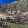 Potato patches<br /> Tristan da Cunha
