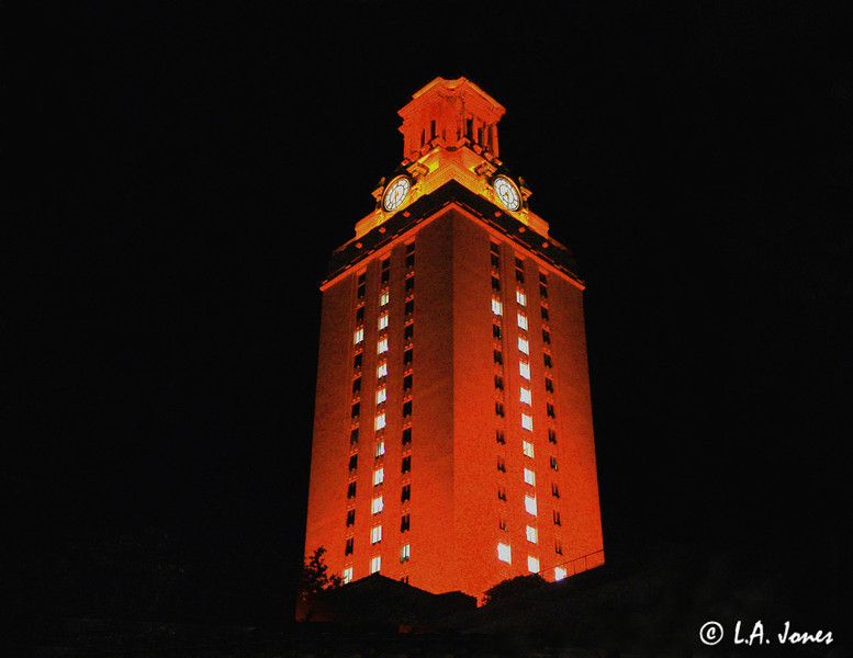 UT Tower side view