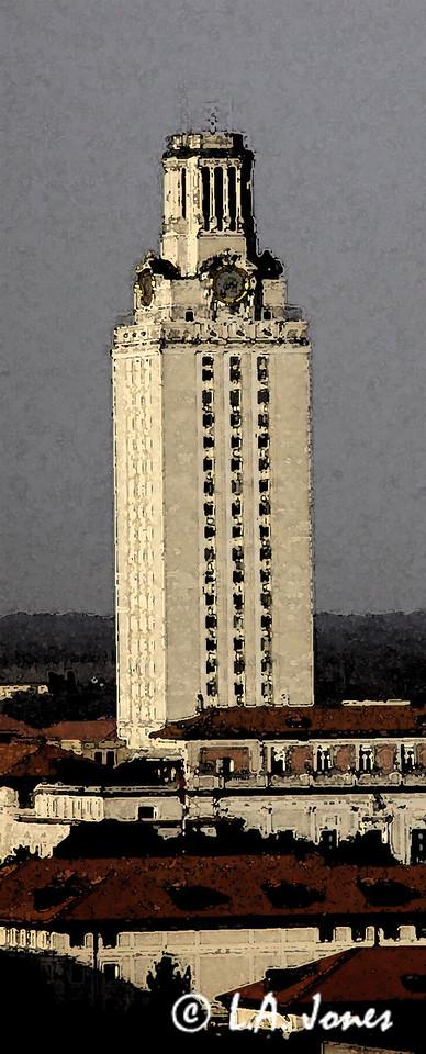UT Tower rendering 1