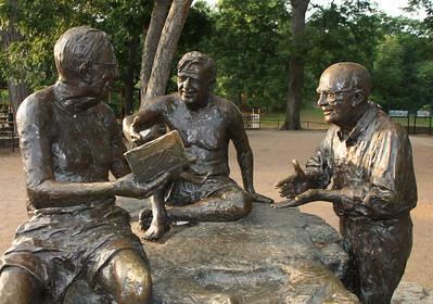 Philosopher's Rock, Zilker Park.