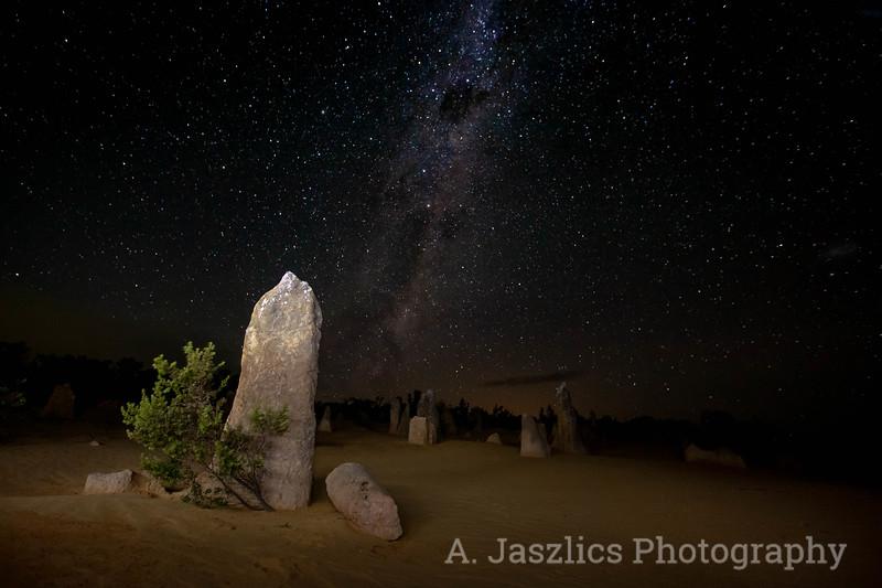 Milky Way at the Pinnacles