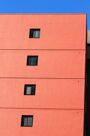 Australia, Queensland, Brisbane, Apartment Block Kangaroo Point