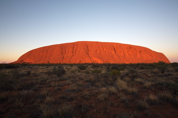 Ayers Rock sunrise.
