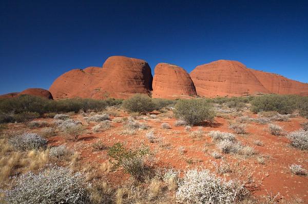 The Olgas, Northern Territory, Australia.