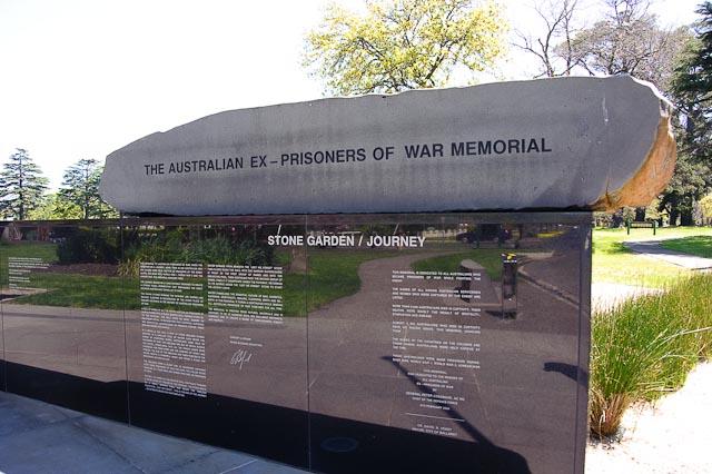 Ballarat, Victoria.  War Memorial Garden