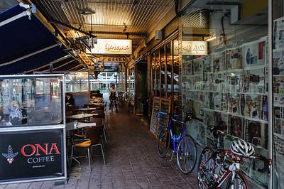Cafe alley, Garema Place.