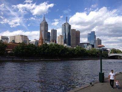 Yara River, Melbourne, 2012.