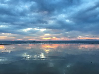 Pastel dawn, Whites Beach, Torquay, Victoria