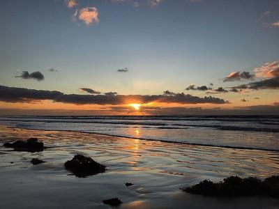 Sunrise at Whites Beach, Torquay, Victoria