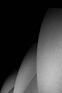 roof section, sydney opera 2