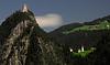 Landeck Castle overlooking the town of Landeck, Austria