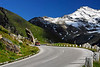 Cars on curved road - Grossglockner Pass, Austria