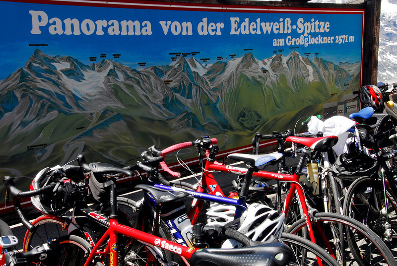 Bicycles - Grossglockner Pass, Austria