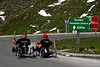 Disabled cyclists on hand bikes - Grossglockner Pass, Austria