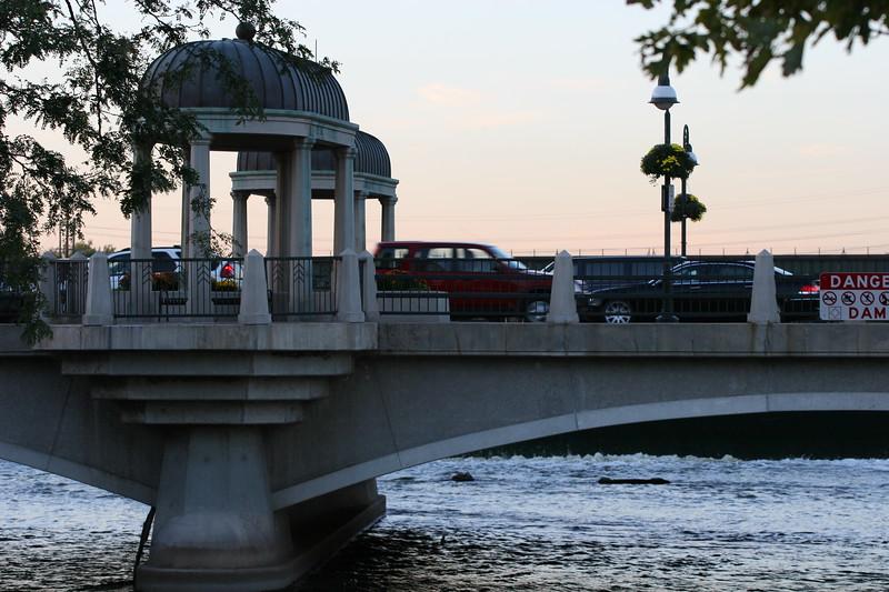 Fox River bridge, St. Charles, IL