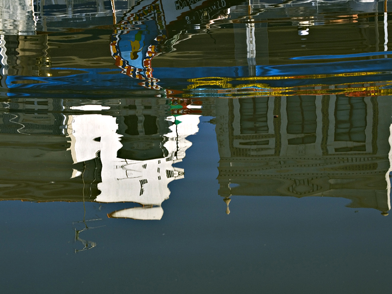 Aveiro - Canal Central: reflexos Reflections