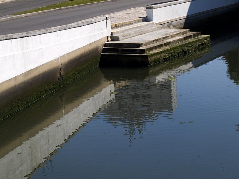 Aveiro - Canal Central: reflexos Reflections