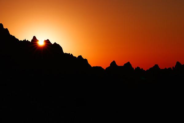 South Dakota sunrise.