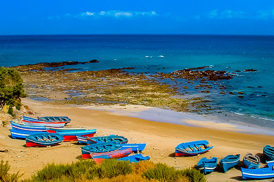 moroccan boats