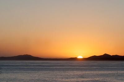 Leaving Idaho Greeting Sun