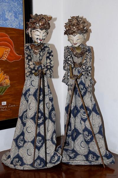In a Batik shop