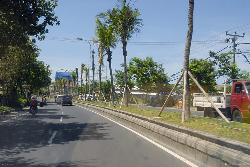 Road in Kuta