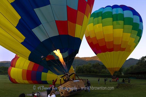 Flight over Napa Valley