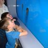 Sam and Ben at the Baltimore Aquarium