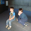 Sam and Ben at the Baltimore Aquarium