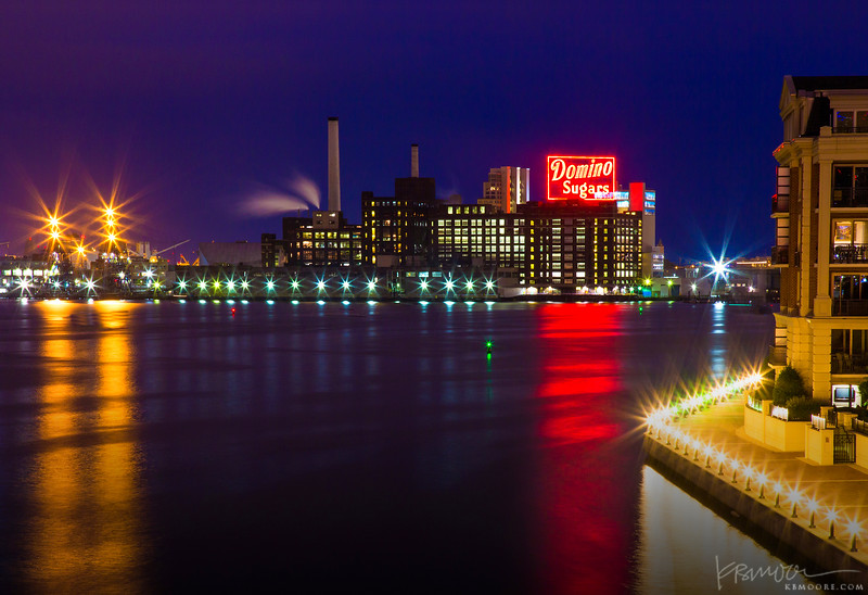 The Iconic Domino Sugars Sign, Baltimore