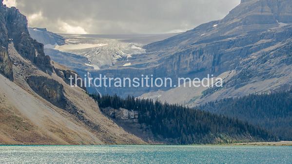 Stream and Glacier