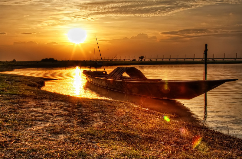 Jamuna River Sunset