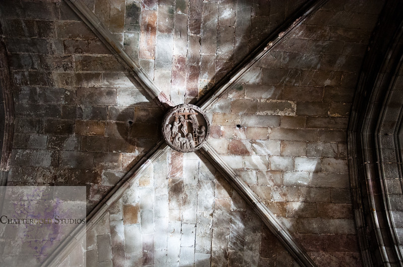 Ancient, Sun Drenched Ceilings, The Cathedral of Barcelona