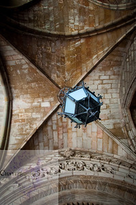 An Old Lamp Leads the Way, The Cathedral of Barcelona