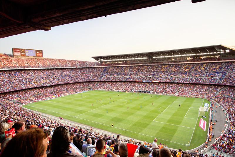 Season Opener at Camp Nou